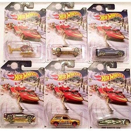 HOT WHEELS 2015 HOLIDAY HOT RODS SERIES SET of 8