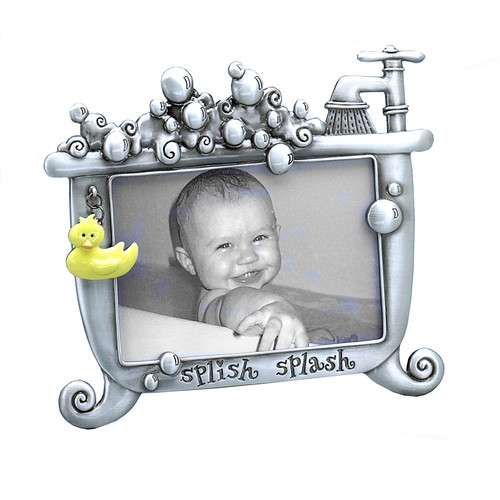 Fetco Home Decor Expressions Lexi Baby Splish Splash Picture Frame