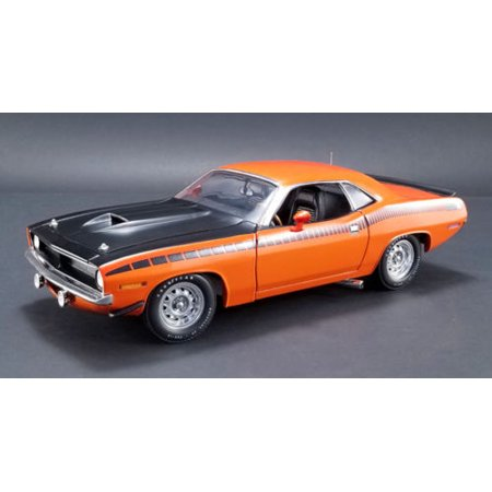 1970 Plymouth AAR Cuda Vitamin C Orange Limited Edition to 1254 pieces Worldwide 1/18 Diecast Model Car by Acme