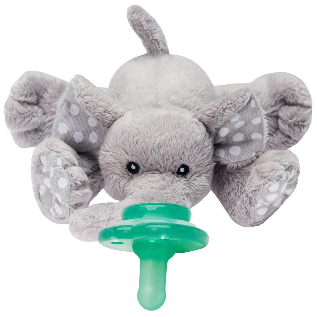 Nookums Paci-Plushies Buddies, Ella Elephant Pacifier Holder