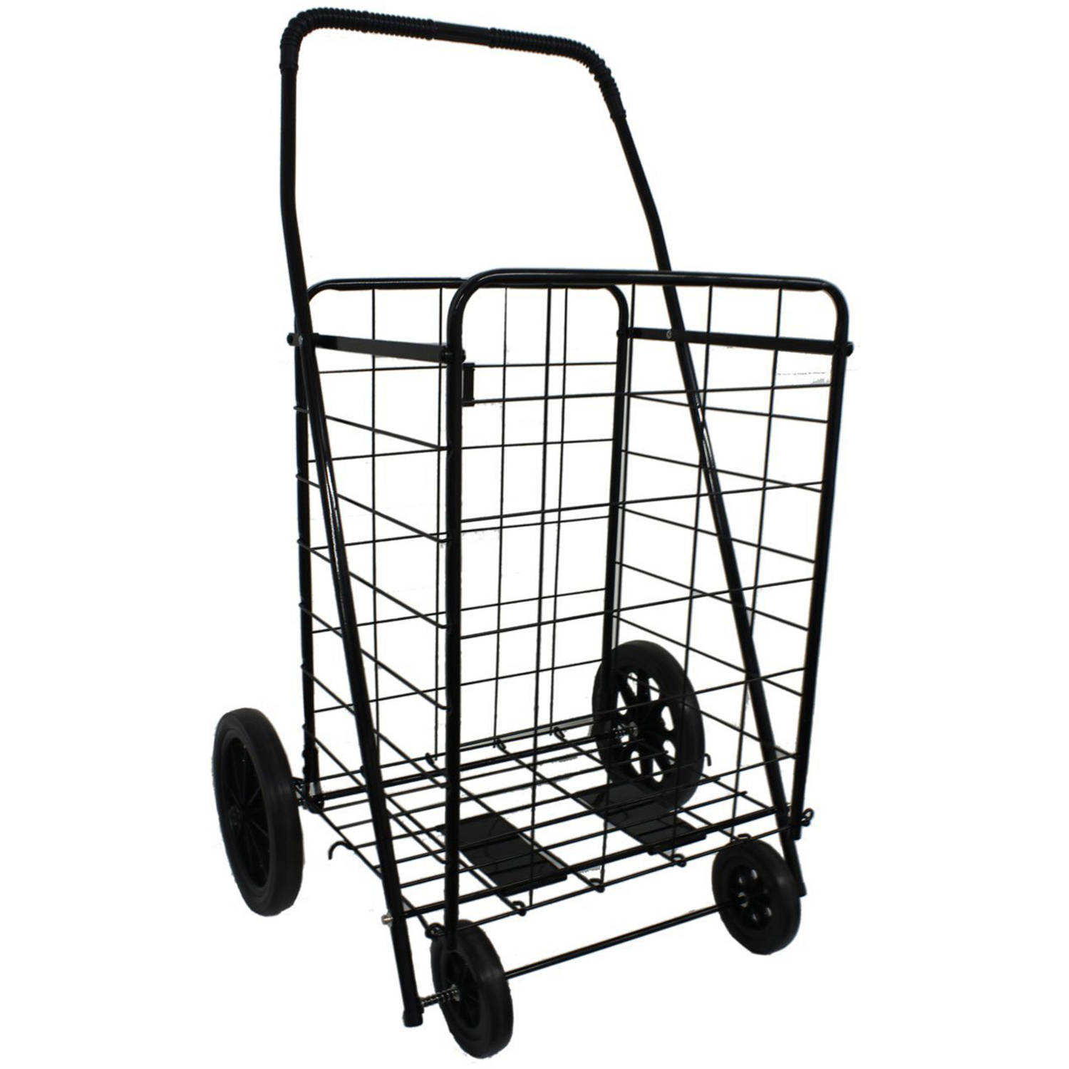 DLUX Model D801 Shopping Cart Size Black