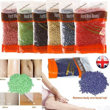300g/500g Depilatory Hard Wax Beans Painless Body Legs Bikini Area Depilation Wax For Home