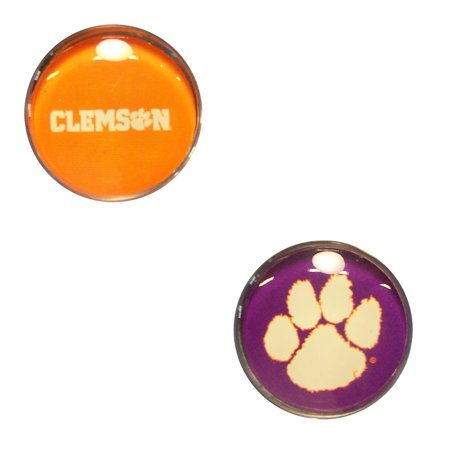 Clemson Tigers Official NCAA  Sport Dotts Magnet 2 Pack by Wincraft
