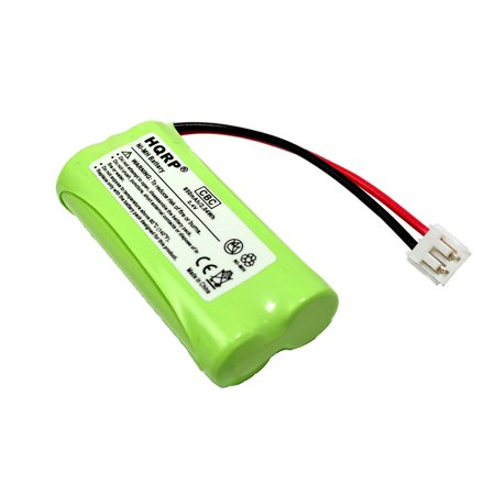 HQRP Phone Battery for General Electric GE 27911 27909 27903 27956 25250 27955, RCA 25250RE1 25250RE1-A H5250RE1-B T-2734, RCA Visys TC25055 Cordless Telephone plus Coaster - General Electric Phones