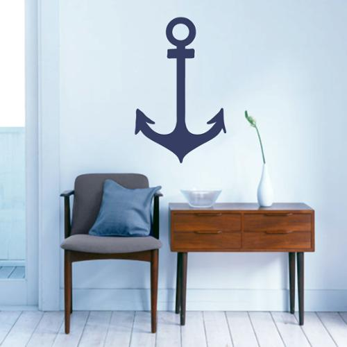 Sweetums Anchor Nautical' 15 x 24-inch Wall Decal