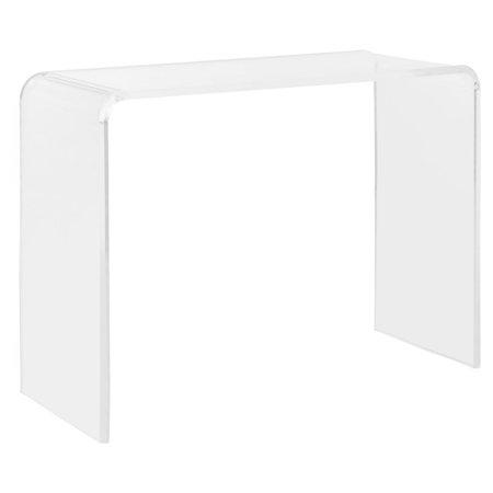Acrylic Console Tables (Safavieh Atka Acrylic Console Table)