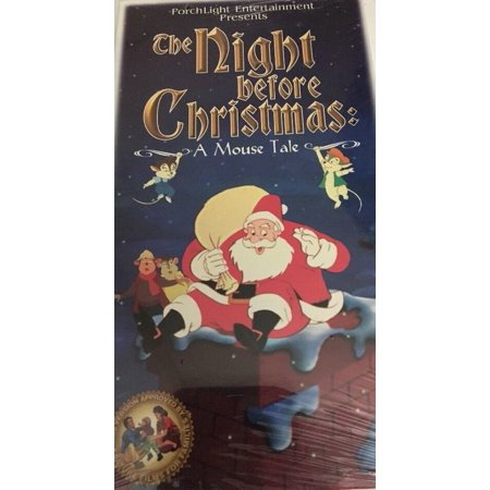 The Night Before Christmas A Mouse Tale- NEW-VHS-RARE VINTAGE-SHIPS N 24