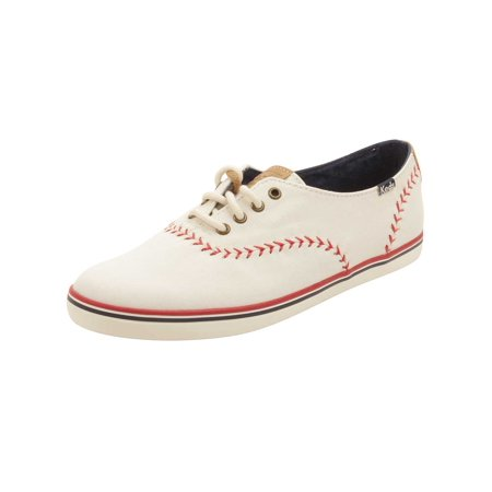 e47f71d0a11f5 Keds - Keds Womens Champion Pennant Sneakers in Off White - Walmart.com