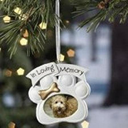 Loving Memory Dog Memorial Christmas Ornament Photo - Christmas Photo Ornaments