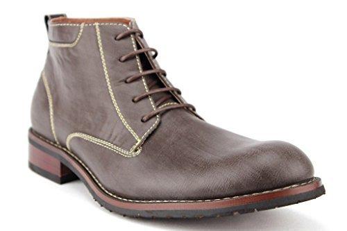 Ferro Aldo Men's 806020 Ankle High Lace Up Distressed Work Desert Dress Boots
