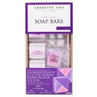 Creative You D.I.Y. Violet Rose Soap Bars Kit