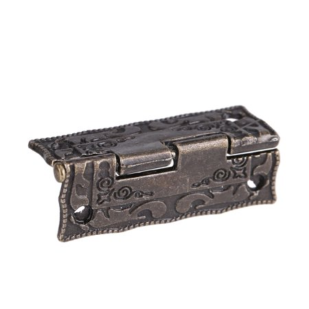 - Dilwe 10Pcs 0°-270° Antique Bronze Cabinet Jewelry Box Hinges Door Furniture Wood Case, Box Lid Hinge, Spring Hinge