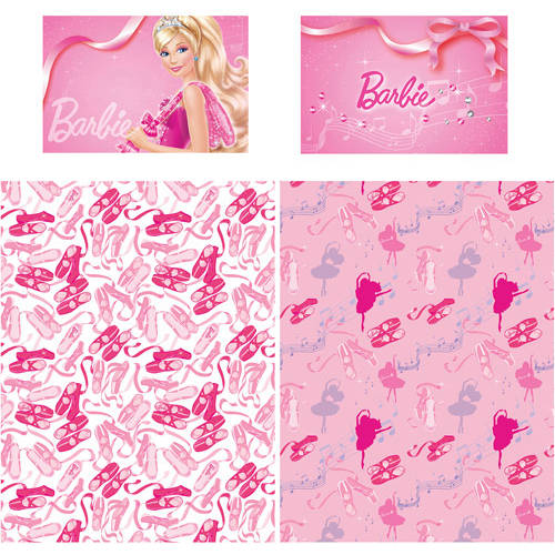 Barbie Ballet Polyester Sheet Set