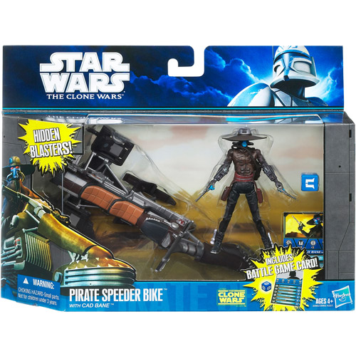 Hasbro Pirate Speeder Bike with Cad Bane Action Figure Se...