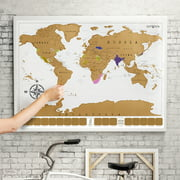 World maps eutuxia travel scratch world map 34x20 inch track places where youve gumiabroncs Choice Image