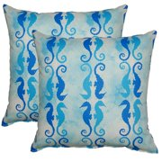 FHT Side by Side Bliss 17-in Throw Pillows (Set of 2)