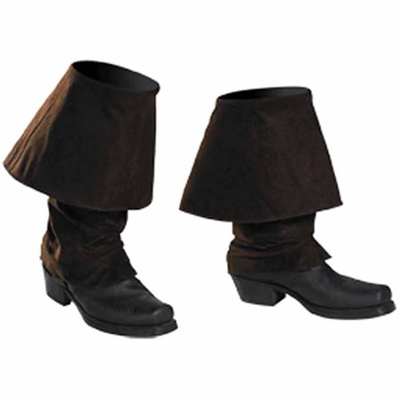 Jack Sparrow Pirate Boot Covers (Pirates of the Caribbean Jack Sparrow Boot Covers Child Halloween Accessory )