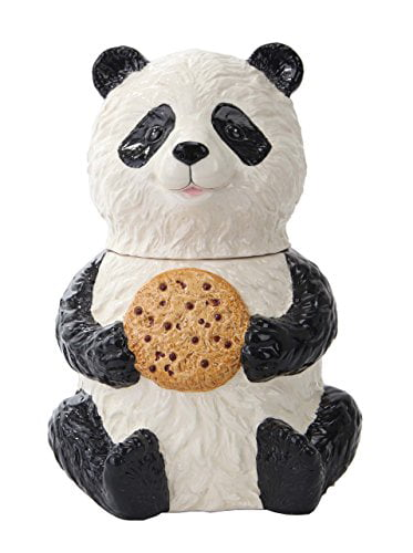 Click here to buy Pacific Trading Chinese Panda Cookie Jar Ceramic Cute Kitchen Accessory by pacific trading.