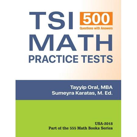 Tsi Math Practice Questions : Math Practice