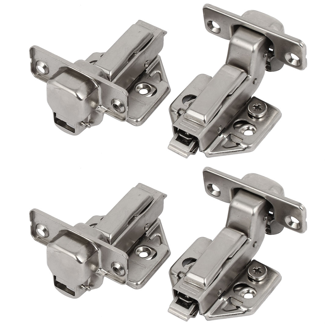 Face Frame Concealed Self Closing Inset Cabinet Wardrobe Hinges 4PCS