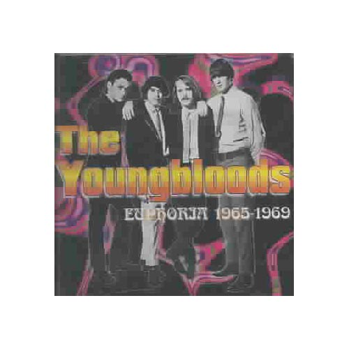 "The Youngbloods: Jesse Colin Young, Jerry Corbit, Banana, Joe Bauer.<BR>Contains 25 tracks.<BR>EUPHORIA draws on material recorded for Mercury and RCA, offering a thorough survey of the first phase of the Youngbloods' career. Taking their name from an earlier solo album by singer Jesse Colin Young, the quartet laid down five tracks that were shelved until 1970. Four of those songs open this collection, followed by ""Grizzly Bear,"" a minor 1966 hit written by guitarist Jerry Corbitt.<BR>""Grizzly Bear"" generated some useful airplay and reappeared on the group's first album, THE YOUNGBLOODS. This early material was a mixture of jangly folk rock, Lovin' Spoonful-style good-time music, and Young's more introspective material. The record was also home to a version of ""Get Together,"" a Dino Valenti composition first heard on Jefferson Airplane's debut album. Initially only a minor hit, it subsequently went Top 10 in 1969. The group's own songwriting moved up a gear with 1967's EARTH MUSIC, represented here by seven songs, some of which have a distinct country-rock flavor. Arguably the pinnacle of their career, 1969's ELEPHANT MOUNTAIN was essentially a vehicle for Young's songs. His haunting, droning ""Darkness, Darkness"" and the lengthy, jazzy ""Ride the Wind"" are among the seven songs chosen for this fine collection."