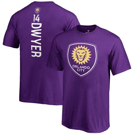 Dom Dwyer Orlando City SC Fanatics Branded Youth MLS Backer T-Shirt - Purple](City Walk Halloween Orlando)