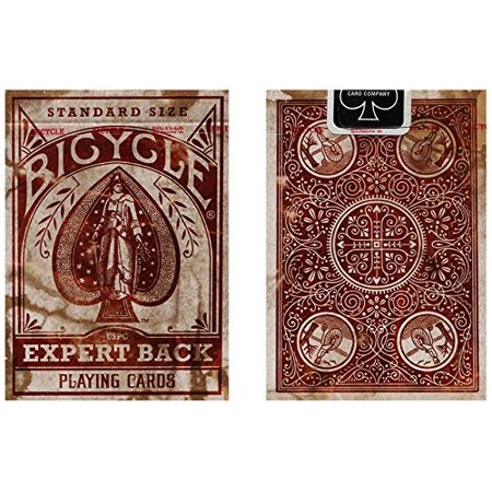 Bicycle Distressed Expert Back Playing Cards - 1 Sealed Deck #1025558