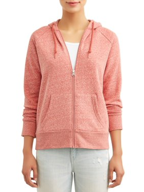 Time and Tru Women's Zip Up Hoodie Sweatshirt