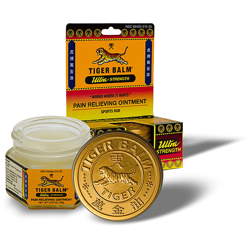 Tiger Balm Ultra Strength Ointment 0.63 oz