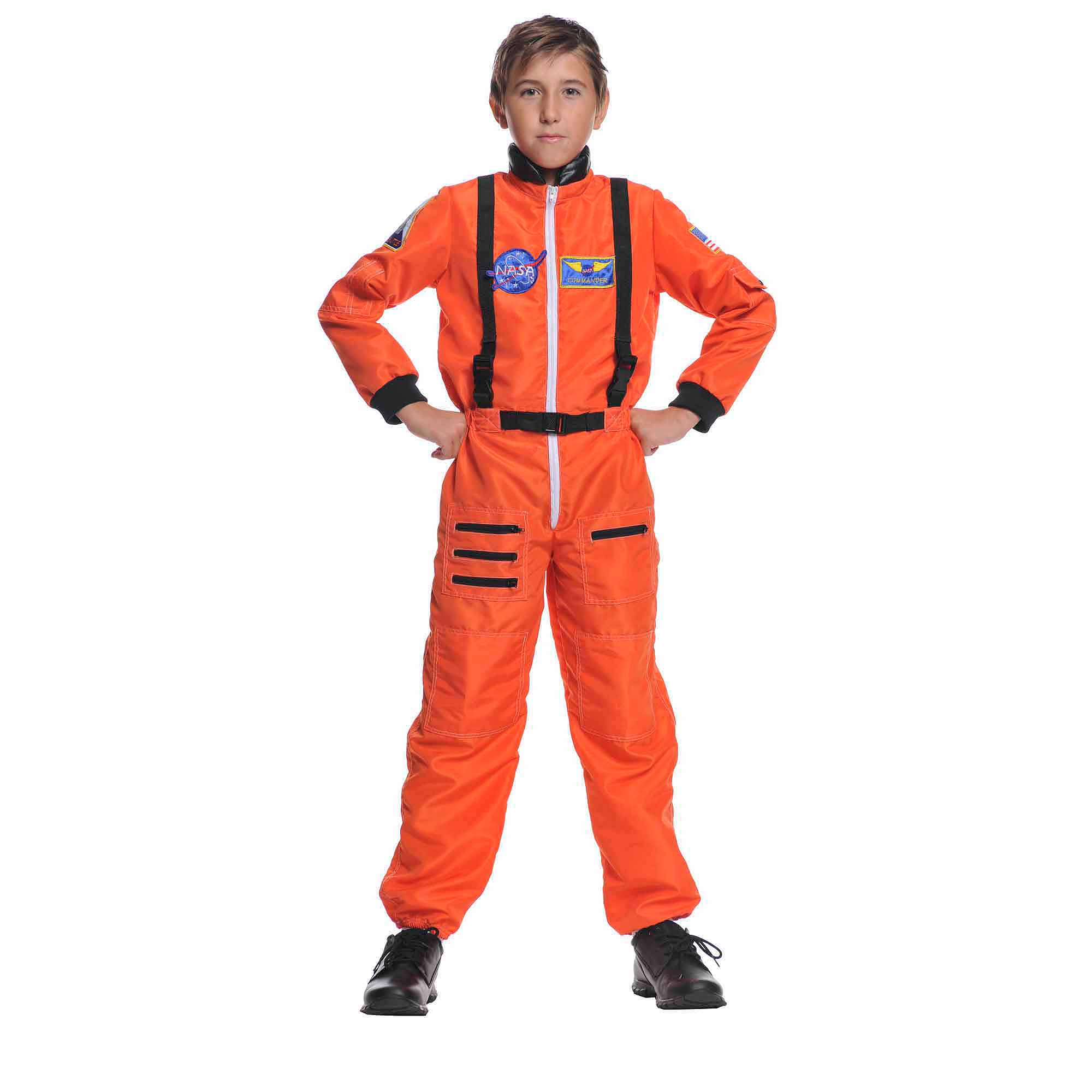 Orange Astronaut Child Halloween Costume