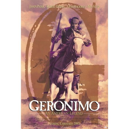 Geronimo: An American Legend - movie POSTER (Style D) (11