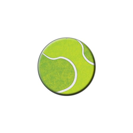 Tennis Ball Sporting Goods Sportsball Lapel Hat Pin Tie Tack Small Round