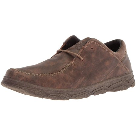 Irish Setter Mens Traveler Leather Lace Up Dress Oxfords, Brown, Size 8.5