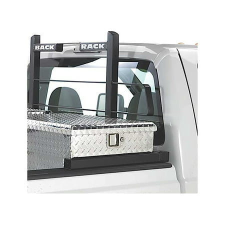 BACKRACK 30112TB 04-14 F150 TOOLBOX NO DRILL 21IN HARDWARE KIT, FRAME NOT INCLUDED (Roof Rack F150)