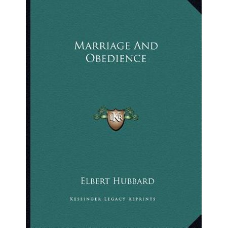 Marriage and Obedience