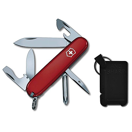 Victorinox Swiss Army Tinker Knife with Knife Sharpener