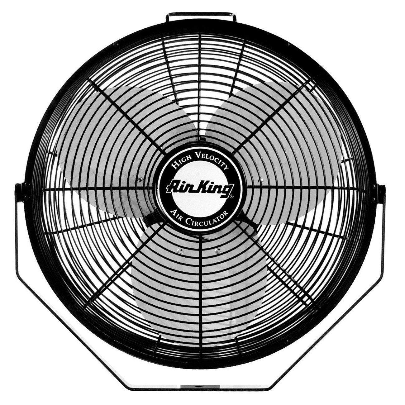 "Air King 18"" 1/6 HP 3-Speed Totally Enclosed Pivoting Head Multi-Mount Fan"