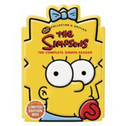 The Simpsons The Complete Eighth Season (Collectible Maggie Head Pack) by