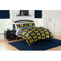 NCAA Michigan Wolverines Bed in a Bag Set, 1 Each