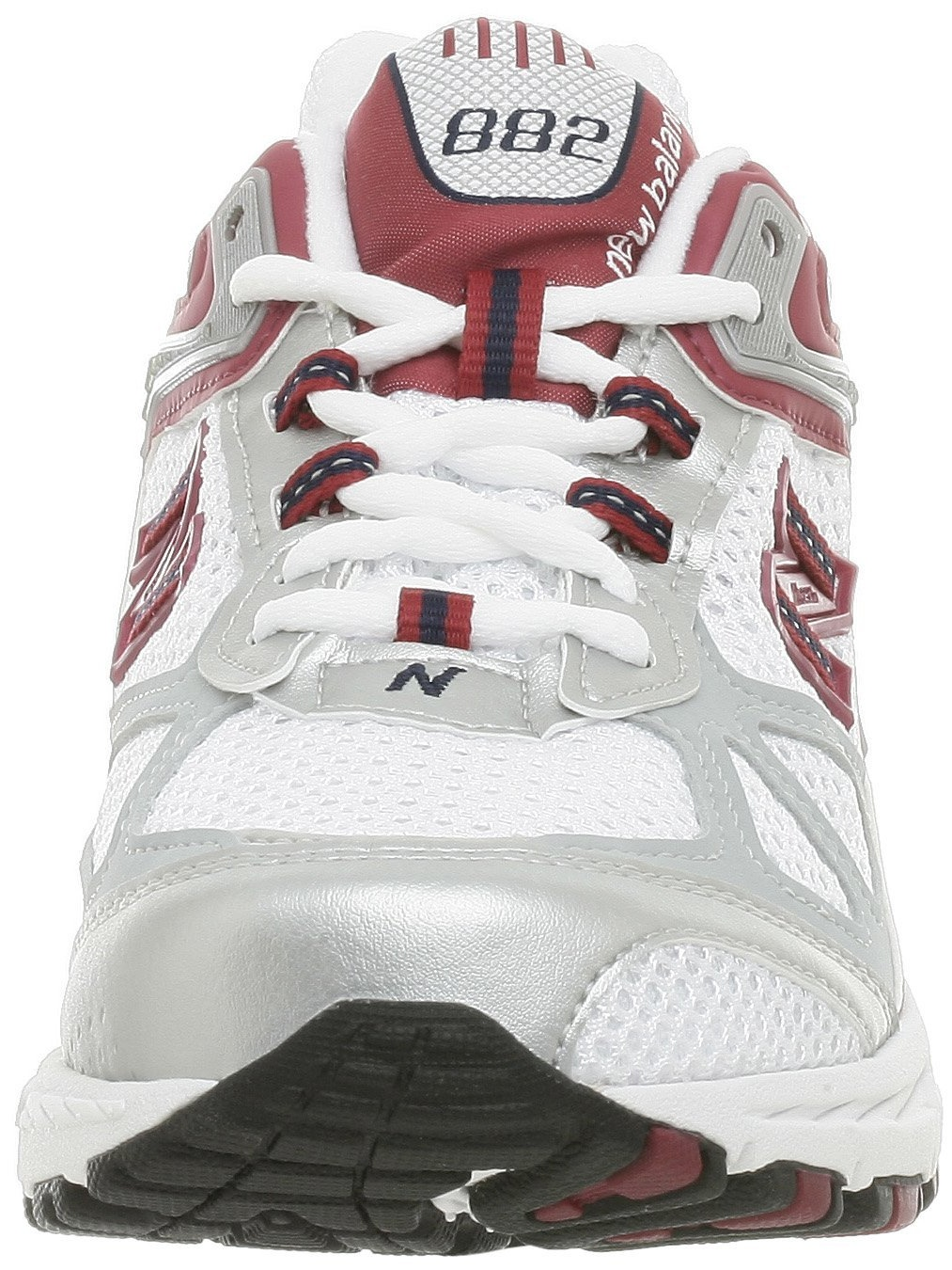 New Balance Women's WR882 Running Shoe,White Cranberry by