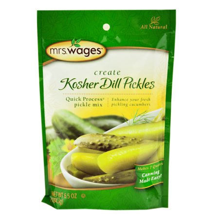 Mrs. Wages Kosher Dill Pickle Mix 6.5 oz. (6 (Taste Of Dill)