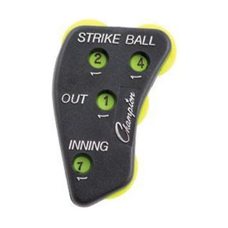 Champion Sports Umpire Indicator 3 Wheel Umpire Indicator