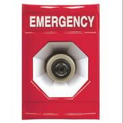 SAFETY TECHNOLOGY INTERNATIONAL SS-2003E Emergency Push Button, Red