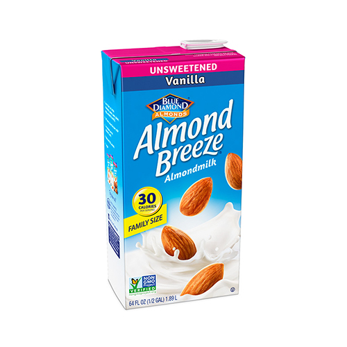 Blue Diamond Almond Breeze Vanilla Almondmilk, 64 fl oz
