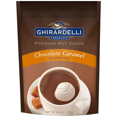 Ghirardelli Chocolate Caramel Premium Hot Cocoa, 10.5 oz