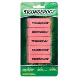Ticonderoga Pink Erasers -