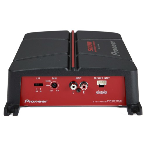 Pioneer GM-A3702 GM-Series Class AB Amp (2 Channels, 500 Watts Max)