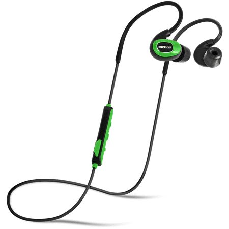 ISOtunes PRO Industrial (Listen Only) Bluetooth Earplug Headphones, 27 dB Noise Reduction Rating, 10 Hour Battery, 79 dB Volume Limit, OSHA Compliant Bluetooth Hearing Protector 1176ln Limiting Amplifier