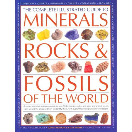 The Complete Illustrated Guide To Minerals  Rocks   Fossils Of The World  A Comprehensive Reference Guide To Over 700 Minerals  Rocks  Plants And Animal Fossils From Around The Globe And How To Identify Them  With More Than