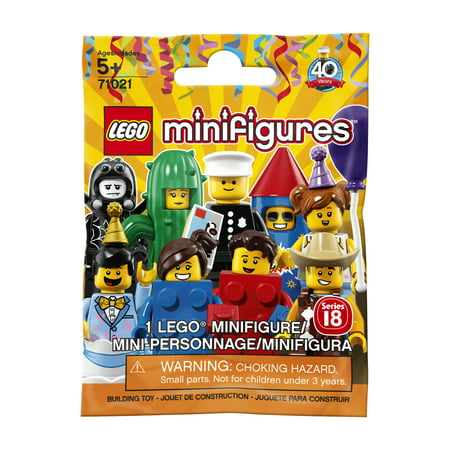 Lego Batman Birthday Party Supplies (LEGO Minifigures Series 18: Party)